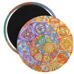 Rainbow Crescents Magnet