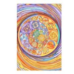 Rainbow Crescents Postcards (Package of 8)