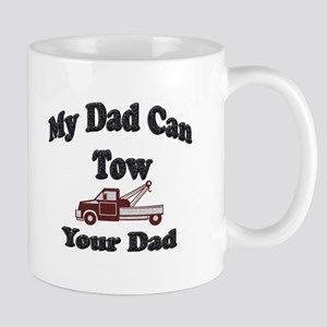 my tow dad red Mugs