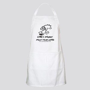Life Is Short, Shoot Trap Naked BBQ Apron