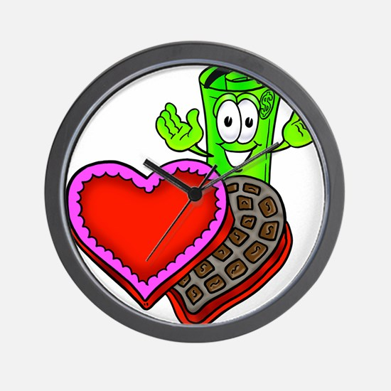 Mr. Deal - Valentine's Day an Wall Clock