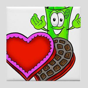 Mr. Deal - Valentine's Day an Tile Coaster