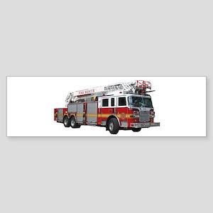 Firetruck Design Sticker (Bumper)