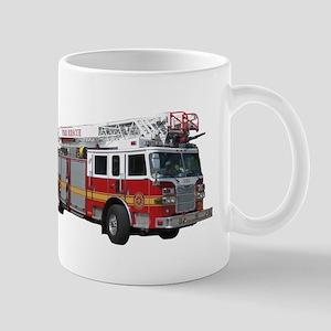 Firetruck Design Mug