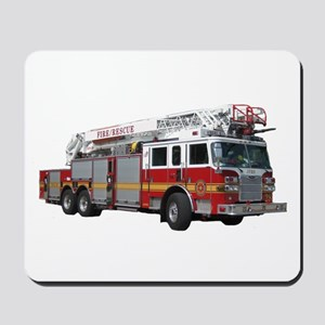 Firetruck Design Mousepad