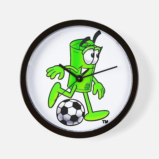 Mr. Deal - Soccer - Money Alw Wall Clock