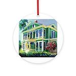 Burton House Ornament (Round)