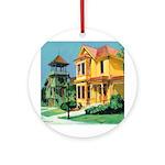 Heritage Park Ornament (Round)
