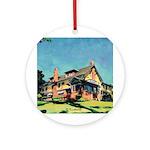 Marston House Ornament (Round)