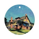 Marston House By Riccoboni Ornament (Round)