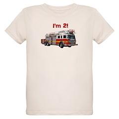 I'm 2! Fire Truck T-Shirt