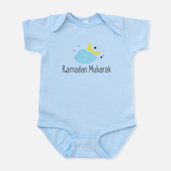 Ramadan Mubarak Body Suit