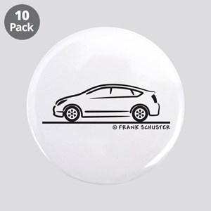 """Toyota Prius 3.5"""" Button (10 pack)"""