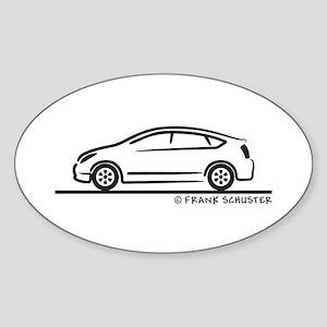 Toyota Prius Sticker (Oval)