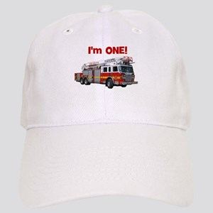 I'm ONE! Fire Truck Cap