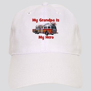 Grandpa Is My Hero FireTruck Cap