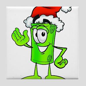Mr. Deal - Christmas - Santa Tile Coaster