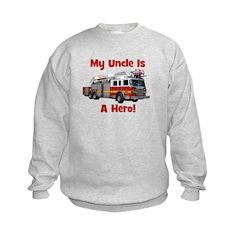 Uncle Is My Hero FireTruck Sweatshirt