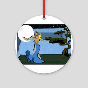 Moon Dance Ornament (Round)