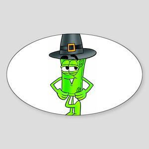 Mr. Deal - Thanksgiving - Pil Sticker (Oval)