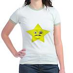Ladies Star Guy Jr. Ringer T-Shirt
