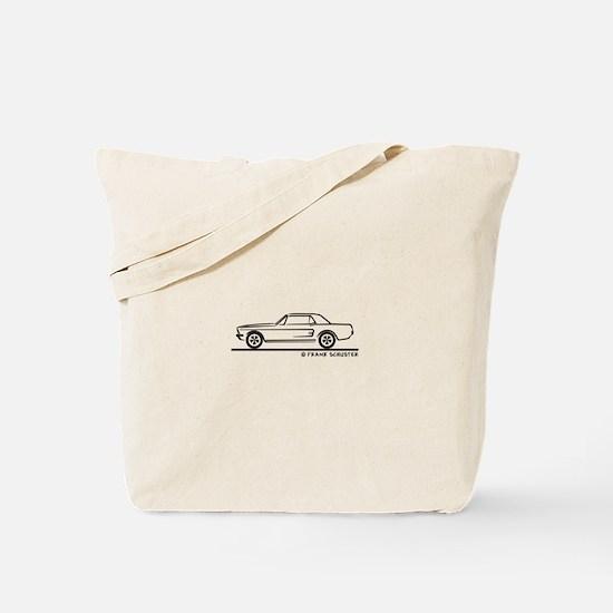 1968 Mustang Hardtop Tote Bag