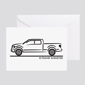 2010 Ford F 150 Greeting Card