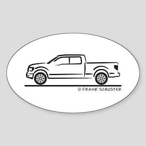2010 Ford F 150 Sticker (Oval)