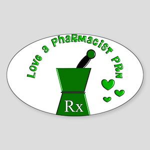PharmD Sticker (Oval)