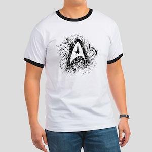Star Trek Insignia Art Ringer T