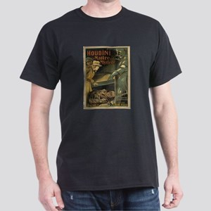 HOUDINI MAN OF MYSTERY INTL POSTER Dark T-Shirt