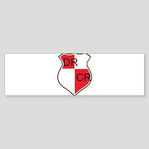 Accountant's Shield Sticker (Bumper)
