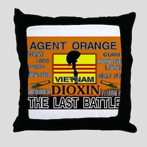 THE LAST BATTLE Throw Pillow
