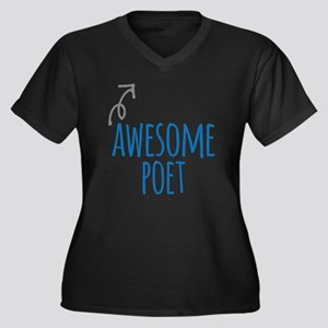 Awesome poet Plus Size T-Shirt