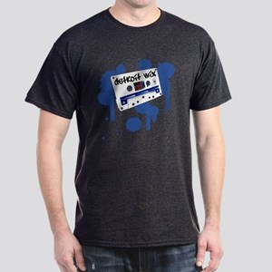 Old School Detroit Mix Tape - Dark T-Shirt