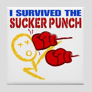 Sucker Punch Tile Coaster