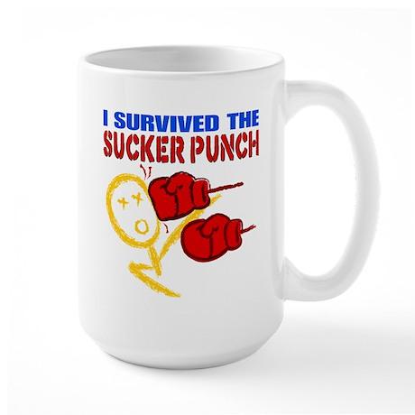 Sucker Punch Large Mug