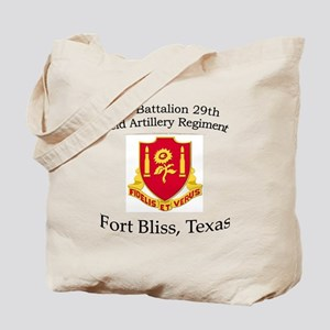 2nd Bn 29th FA Tote Bag