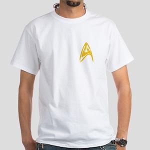 StarFleet Command White T-Shirt