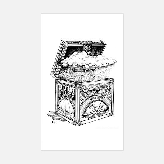 Box of Rain Sticker (Rectangle)