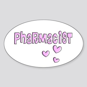 Pharmacist II Sticker (Oval)