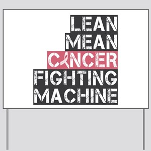 Breast Cancer Fighter Yard Sign