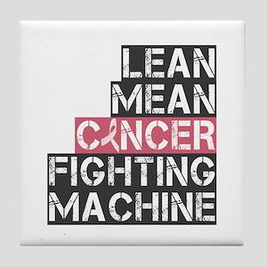 Breast Cancer Fighter Tile Coaster