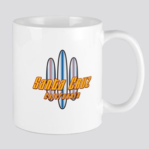 Santa Cruz and Boards Mug