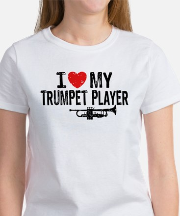 I love My Trumpet Player Women's T-Shirt