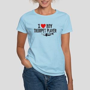 I love My Trumpet Player Women's Light T-Shirt