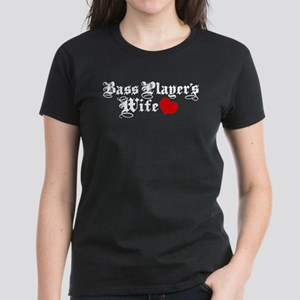 Bass Player's Wife Women's Dark T-Shirt