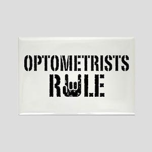 Optometrists Rule Rectangle Magnet