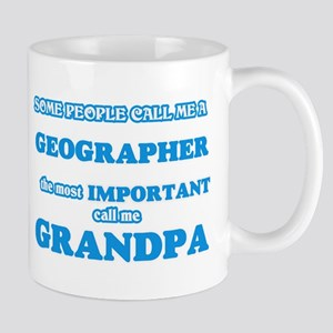 Some call me a Geographer, the most important Mugs