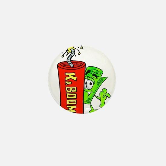 Mr. Deal - Dynamite Credit Mini Button